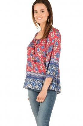 Hale Bob | Off-shoulder blouse Logan | rood