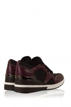 MICHAEL Michael Kors | Wedge sneakers Scout | zwart