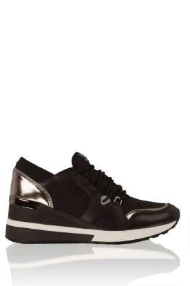 Wedge sneakers Scout | zwart