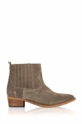 Catarina Martins |  Suede ankle boots Chase Velourk | grey