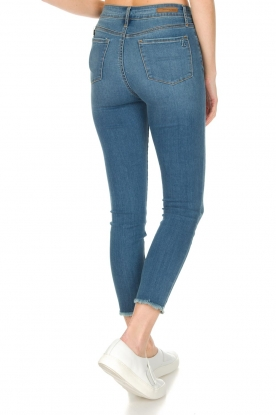Articles of Society | High-rise jeans Heather Paris | blauw