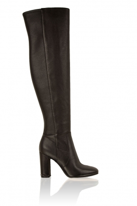 Leather boots Sabrina | black