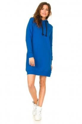 Look Hooded sweater dress Harlem