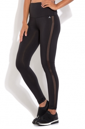 Beta Studios | Sportlegging Mesh | zwart