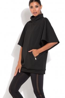 Sport poncho Scuba | zwart