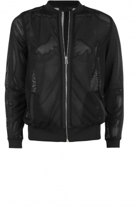 Beta Studios |  Bomber jacket Mesh | black