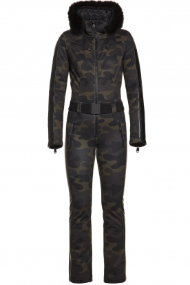 Goldbergh | Ski suit Bush | green