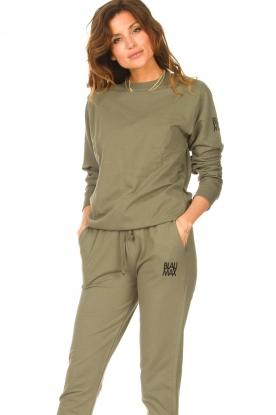 Blaumax |  Basic sweater Brooklyn | green
