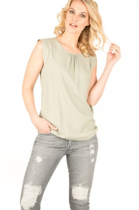 Knit-ted | Top Fay | groen