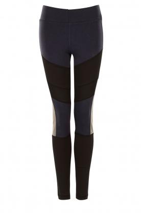 Sports leggings Reflex | black/blue