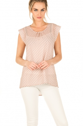 Knit-ted | Top Ada | print