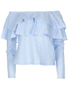 Aaiko | Top Saveria | blauw