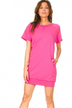 Blaumax |  Sweater dress Queens | pink