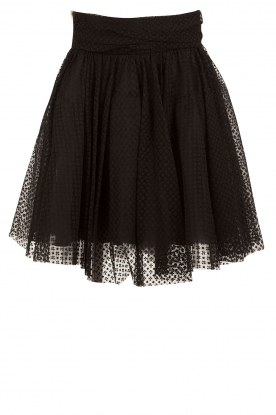 Tulle skirt Fay | black