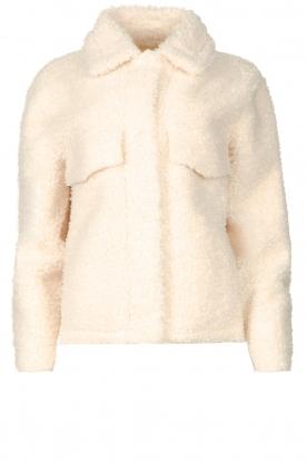 Ibana |  Short teddy coat Cita | natural