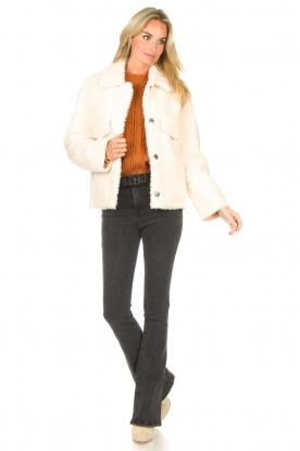 Look Short teddy coat Cita