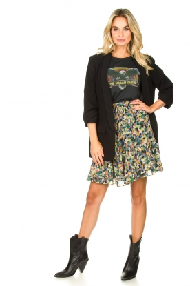 Look Mini print skirt Aquarel