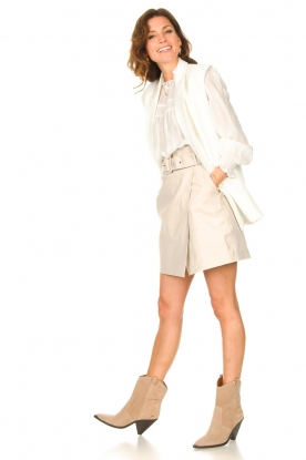 Look Blouse with puff sleeves Jain