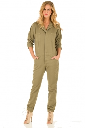 ba&sh | Jumpsuit Madison | legergroen