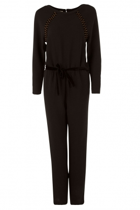 Sessun | Jumpsuit Aircraft | zwart