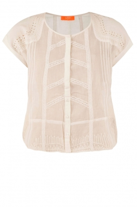 ba&sh |  Blouse Dana | off-white