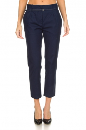 Atos Lombardini |  Classic trousers Belle | blue