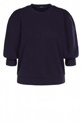 Set | Sweater with puff sleeves Jill | blue