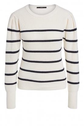 Set |  Cotton sweater Away | white/blue