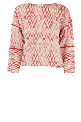 ba&sh |  Sweater Gaby | red