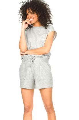 Set    Cotton sleeveless sweater Bey   grey