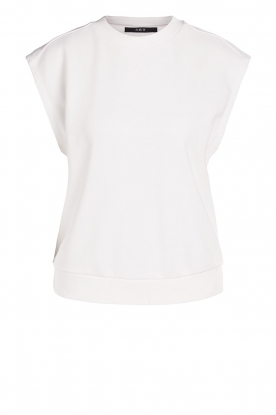 Set    Cotton sleeveless sweater Bey   natural