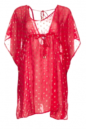 Hipanema |  Caftan Kasey | red