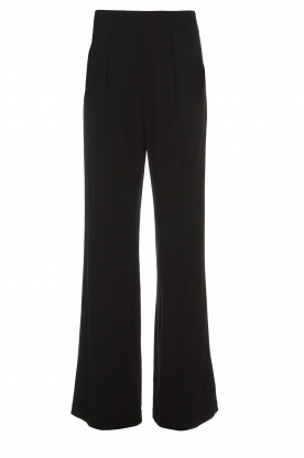 Atos Lombardini |  Flared trousers Mitzi | black
