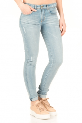 Lois Jeans | Mid rise skinny jeans Berta lengtemaat 34 | blauw
