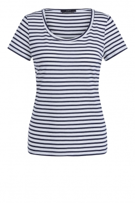 Set |  Striped T-shirt Beau | blue