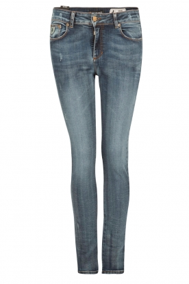 Lois Jeans |  High rise skinny jeans Cordoba inseam 34 | blue