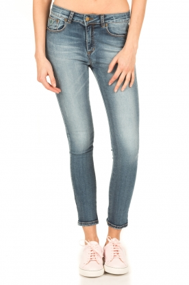 Lois Jeans | High rise skinny jeans Cordoba lengtemaat 34 | blauw