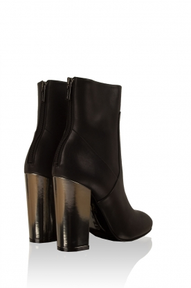 Leather ankle boot Prato | black