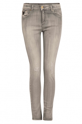 Lois Jeans |  High rise skinny jeans Cordoba inseam 32 | grey