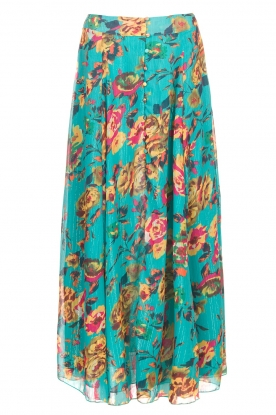 Hipanema |  Maxi-skirt Johanne | blue