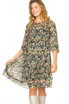Set |  Print dress Chantell | multi