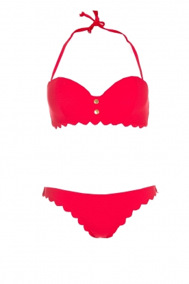 Hipanema |  Bandeau bikini Mirabelle | red