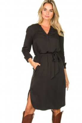 Set |  Modal dress Ivy | black