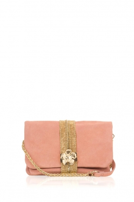 Hipanema |  Suede shoulder bag Starlet | pink