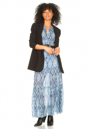 Look Midi skirt with tie dye print Ysa