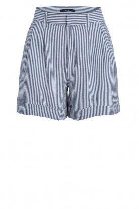 Set |  Striped short Henny | blue