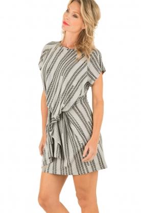 Linen dress Enjoy | grey