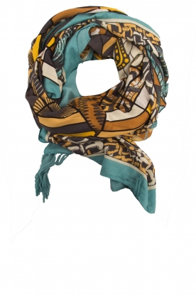 Hipanema |  Scarf Wax | blue