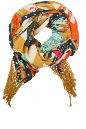 Hipanema |  Scarf Fantastica | yellow