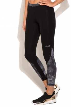 Sports leggings Pxl Block 7/8 | black/grey